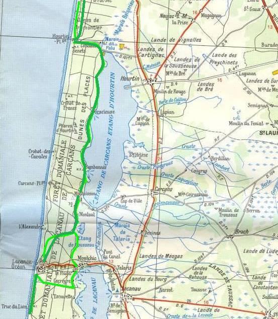 Voie du littoral gironde 2 asjca - Maubuisson office de tourisme ...