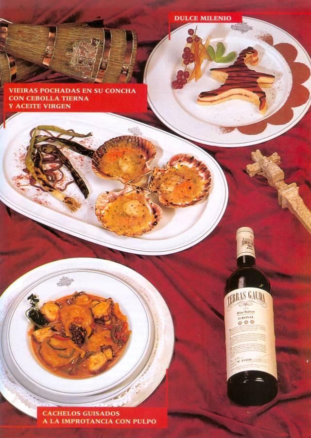 Camino franc s restaurantes mart n platos - Casa camilo santiago ...